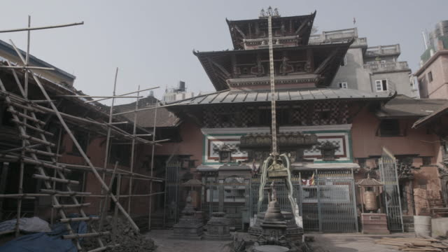 Pan of temple in Nepal