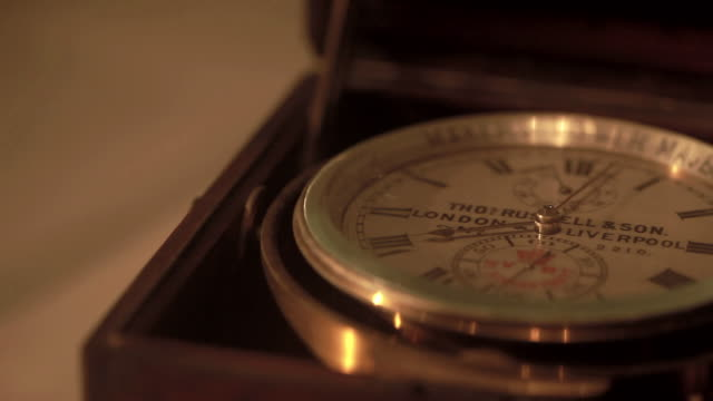 ecu pan old british chronograph - romersk siffra bildbanksvideor och videomaterial från bakom kulisserna