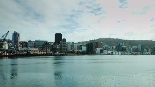 Pan Over Wellington Harbour