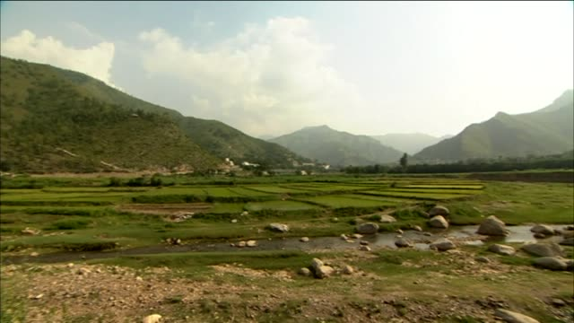pan right across the swat valley - extremism stock videos & royalty-free footage