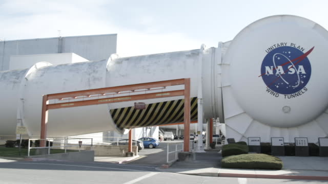 Pan right, NASA wind tunnels