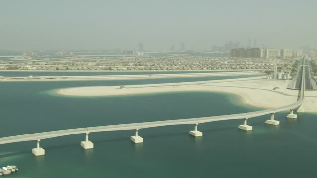 Pan Right Shot Dubai United Arab Emirates