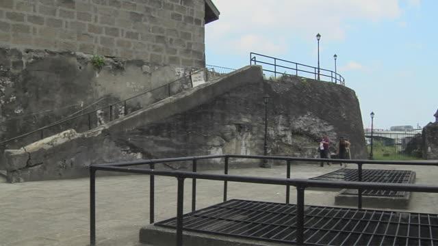 Pan Right Shot Fort Santiago Manila Metro Manila Philippines
