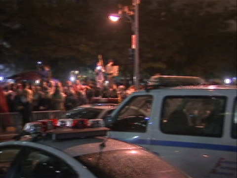 pan right shot of protestors gathering on the night before a planned cleaning of zuccotti park that threatened to kick them out. the company that... - business or economy or employment and labor or financial market or finance or agriculture stock videos & royalty-free footage