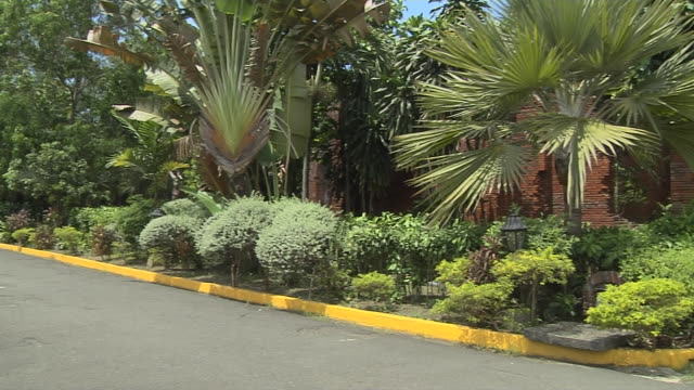 Pan Right Shot Reveal Rizal Shrine Manila Metro Manila Philippines