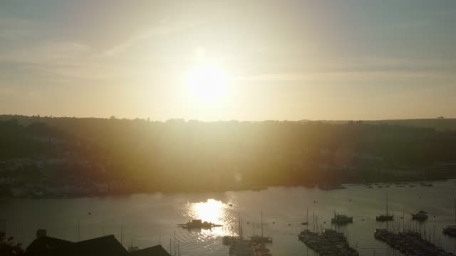 Pan - Sunset over Dartmouth Harbour