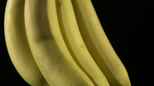 vidéos et rushes de pan up a bunch of bananas. - banane fruit exotique