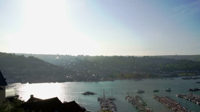 Pan - View of Dartmouth Harbour, as seen from Kingswear