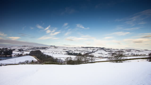 T/L Pan Worth Valley, Yorkshire in the Snow