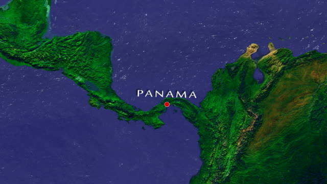 panama 4k zoom in - panama canal stock videos & royalty-free footage