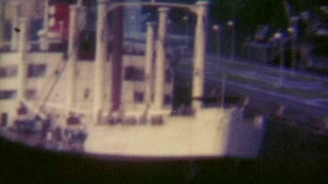 panama canal 1969 - panama canal stock videos & royalty-free footage