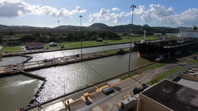 panama canal pan - panama canal stock videos & royalty-free footage