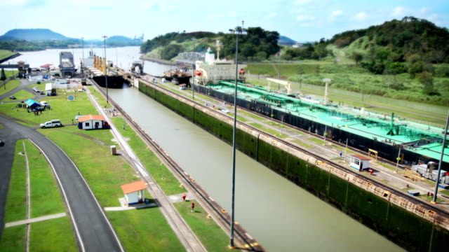 panama canal - panama canal stock videos & royalty-free footage