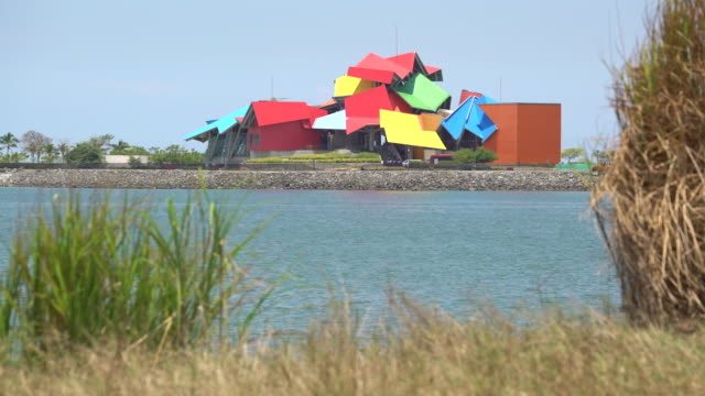 Panama City Biodiversity Museum, named Panama Bridge of Life, by architect Frank Gehry, Panama, Central America