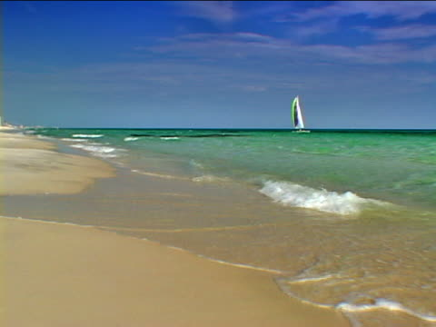 vídeos y material grabado en eventos de stock de panama city: sunnyside beach - artbeats