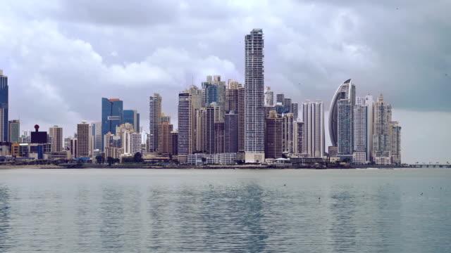 panama cityscape - panama city panama stock videos & royalty-free footage