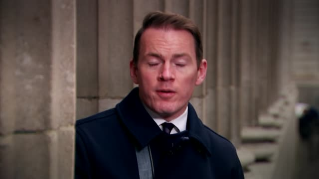 David Cameron faces MPs amid tax affairs row London EXT Reporter to camera