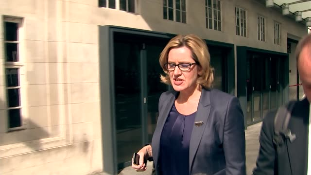David Cameron publishes six years of tax returns ENGLAND London EXT Amber Rudd MP interview as along SOT