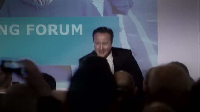 David Cameron publishes six years of tax returns 942016 ENGLAND London David Cameron MP on stage at Conservative Spring Forum