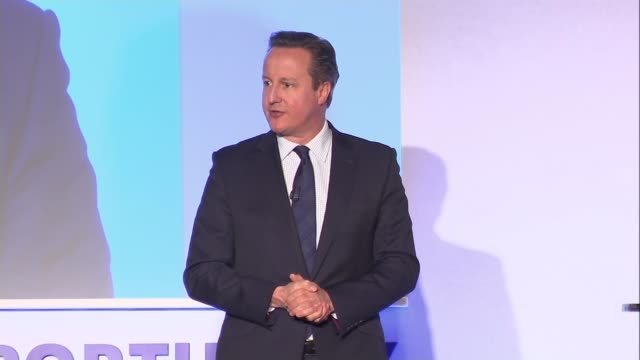 David Cameron's tax returns to be published INT David Cameron MP along on stage David Cameron MP speech SOT Well it's not been a great week...