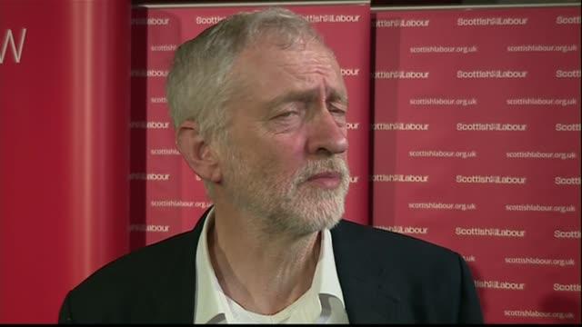 Jeremy Corbyn interview SCOTLAND Edinburgh INT Jeremy Corbyn MP interview SOT David Cameron publishing his tax returns is a good start not about one...