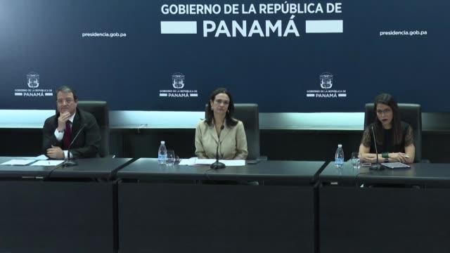 panama rechazo el miercoles la propuesta de la comision europea de incluir al pais centroamericano en la lista de alto riesgo por supuestas... - terrorismo stock videos & royalty-free footage