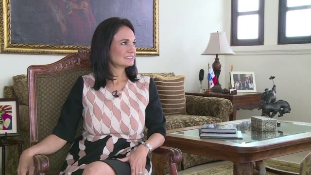 panama will deepen talks with the oecd on sharing tax information in the wake of the panama papers scandal its vice president tells afp in an... - oeec video stock e b–roll