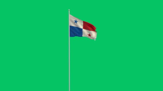 panamaischer Flagge Rising