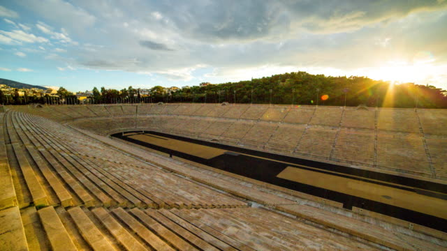 panathenaic stadium - athens greece stock videos & royalty-free footage