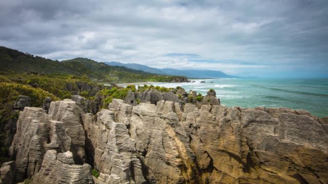 ZEITRAFFER: Pancake Rocks New Zealand