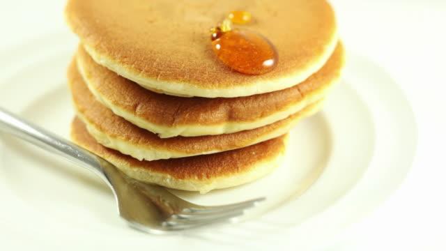 パンケーキ - パンケーキ点の映像素材/bロール