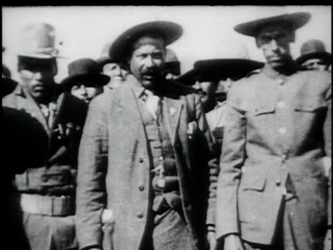 pancho villa - 1914 stock videos & royalty-free footage