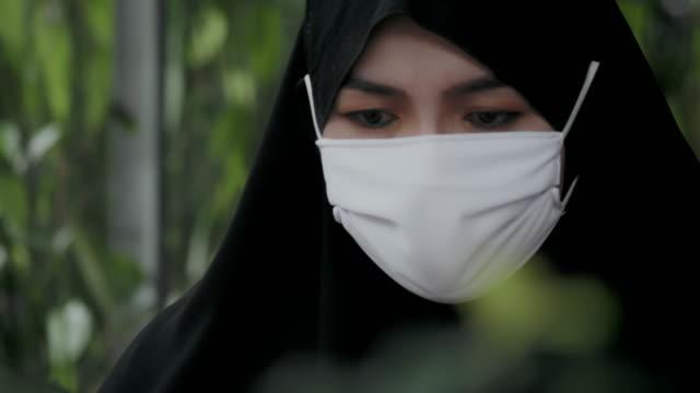 pandemic : female muslim doctor - iran stock videos & royalty-free footage
