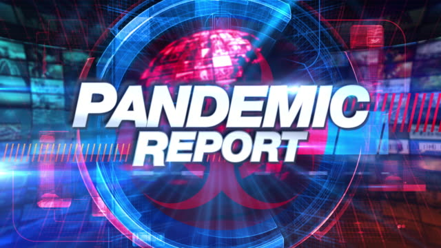 Pandemic Report - Media TV Animation Graphic Title