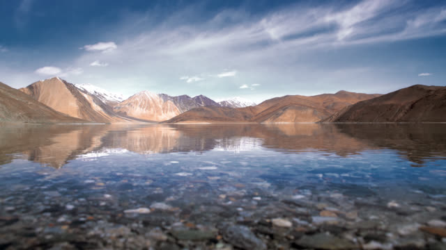 Pangong lake in leh ladakh india