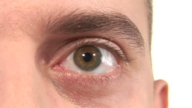 hd: panic eye - cornea stock videos & royalty-free footage