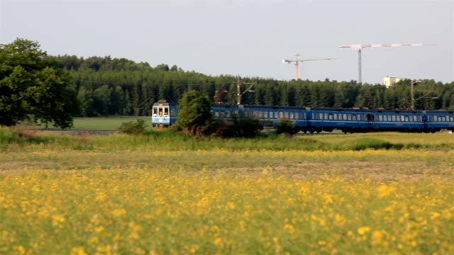 Panning a train