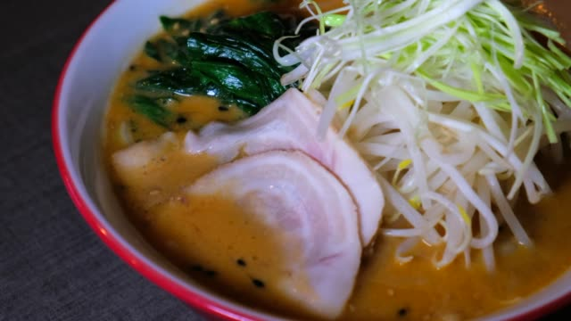 panning close-up: delicious soup wanting to be eaten - eaten stock videos & royalty-free footage