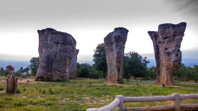 TL panning: Mo Hin Khao Chaiyaphum Stone Henge of Thailand
