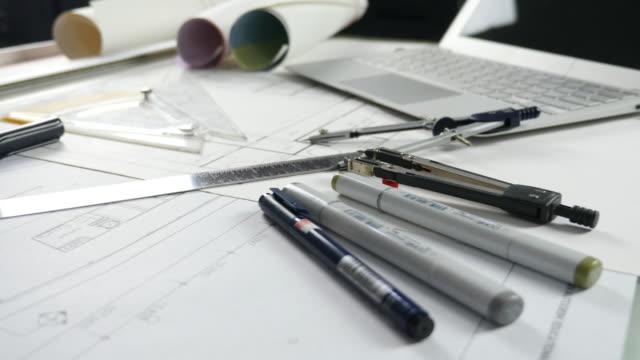 Panning movement of blueprint work