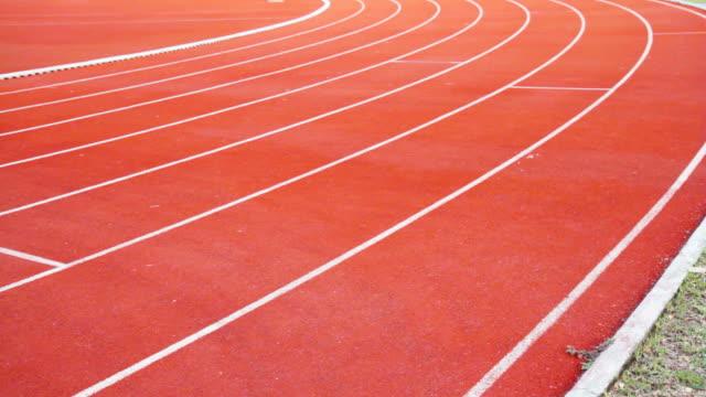 Panning of Running Track