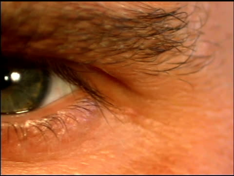 panning over eyes - hazel eyes stock videos & royalty-free footage