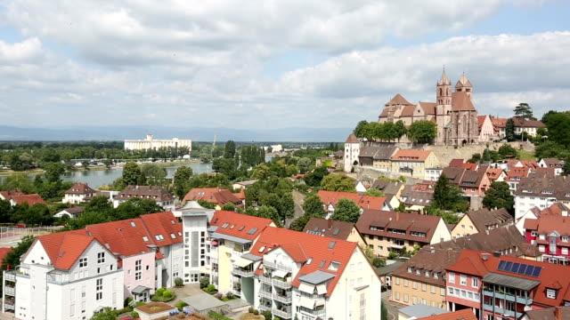 Panning Shot: Breisach Stadtbild in Deutschland