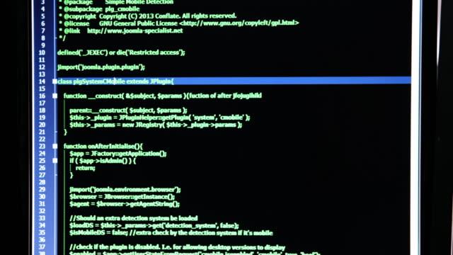 パンショットコードプログラミング - 四つ点の映像素材/bロール