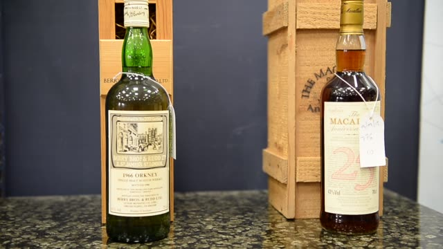 Panning Shot extremely rare whiskey collection Whiskey collectors as far afield as the United States China and Australia will be looking in on the...