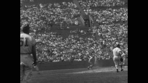panning shot of baseball players playing game on baseball diamond - fielder stock videos & royalty-free footage