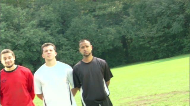 panning shot of soccer players - see other clips from this shoot 1280 stock videos & royalty-free footage