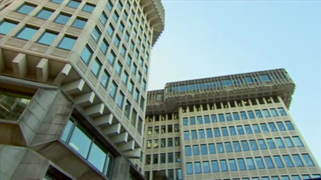 panning shot of the ministry of justice building - politics stock videos & royalty-free footage