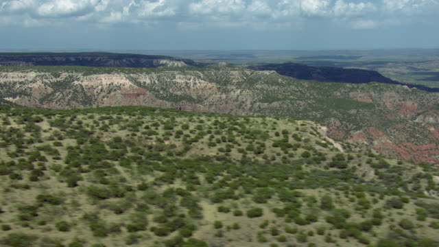 Panning Shot Over Texas Landscape