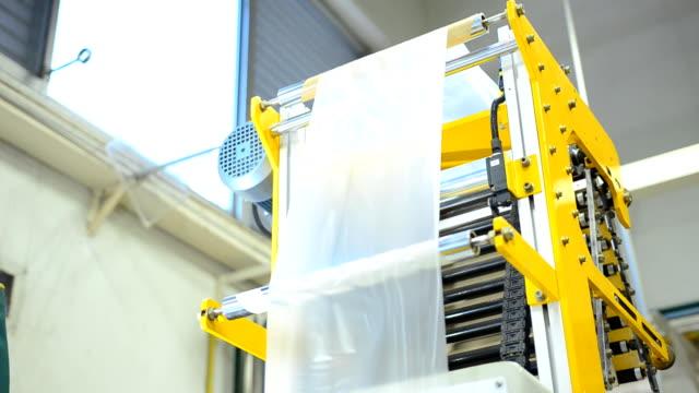 panorering: tornet för att hålla plastpåse film från blåst film extruder
